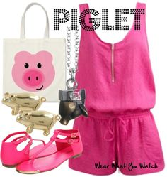 Inspired by Winnie-the-Pooh character Piglet.