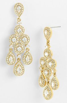 Nadri Framed Chandelier Earrings available at #Nordstrom