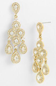 Nadri Framed Chandelier Earrings available at #Nordstrom