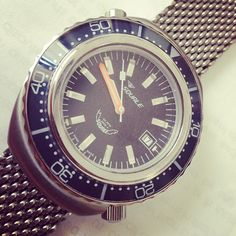 Squale 101ATM #limited-edition with helium release valve.