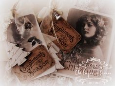 Old Paper Roses: Bye Bye Halloween .... Hello Christmas.