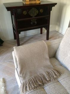 100% pure cashmere throw in Paris