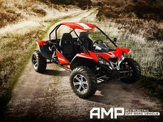 AMP All-electric Off-Road Vehicle (Side By Side All Terrain Vehicle) from Epic Electric Vehicles