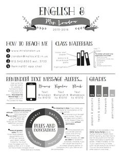Image result for middle school language arts syllabus template