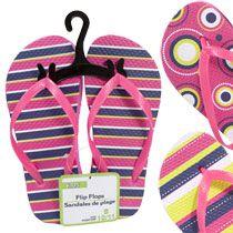 Got them...Bulk Kids' Pink Printed Rubber Flip-Flops at DollarTree.com