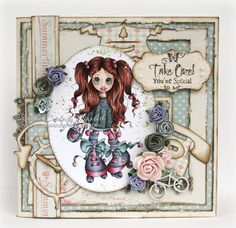 Welcome to my blog dedicated to cardmaking! I love Copic markers and coloring, especially Magnolia stamps! I love all kinds of paper crafts- and I'm happy if you stay a while and and share it with me!