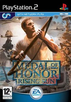 Medal of Honor Rising Sun Sony PlayStation 2 Game Boxed Disc Manual Complete Gamecube Games, Playstation Games, Xbox Games, Crash Bandicoot, Pearl Harbor, Consoles, Juegos Ps2, Bioshock Game, Sony