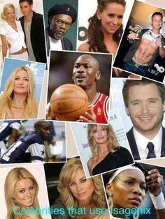 Isagenix Bulletin: Celebrities on Isagenix So many people are using these amazing products!! I am so thankful to be apart of such a healthy and nutritional industry where helping people feel better and live better is the number one priority!
