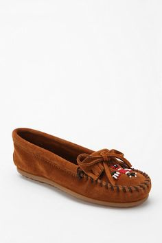 Minnetonka Beaded Thunderbird Moccasin ---I used to own these as a little girl! #UrbanOutfitters