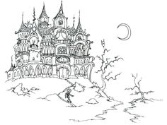 Halloween coloring sheets middle school coloring kids for Halloween coloring pages middle school