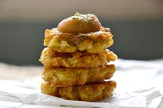 I make these with hash browns instead of tater tots and aquafaba instead of eggs.