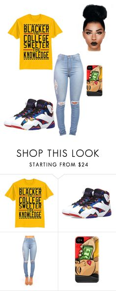 """""""Black"""" by jenelldaghanaian ❤ liked on Polyvore"""