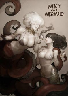 The Witch and The Mermaid by Kim Bum *