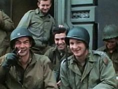 1st Infantry Division soldiers in Normandy