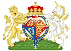 Coat of Arms for HRH Anne, Princess Royal