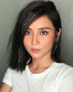 """""""You are the constant in this world of variables Filipina Actress, Filipina Beauty, Kathryn Bernardo Hairstyle, Filipino, Celebrity Short Hair, 90 Day Fiance, Daniel Padilla, Just Girl Things, Selfie"""