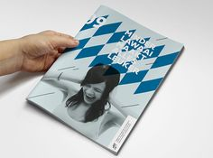 Vlaams jeugdmagazine on Editorial Design Served