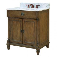 "30"" Regency Place Vanity with Undermount Sink - Bathroom Vanities - Bathroom"