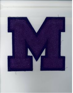 Old Madison College varsity letter