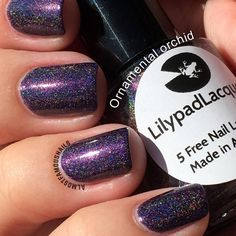 Lilypad Lacquer Ornamental Orchid (Dupe for Glam Nightmare)