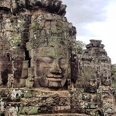 The smile on my own face is pretty similar - we finally got to Cambodia and after a day starting to recover from jetlag we headed to a few of the major temples: Angkor Wat Bayon and Ta Prohm. I've wished to come here for years. I can hardly believe I finally am. My daughter counted 100 faces before she gave up... approximately half as it turns out... . . . . . . . #familycambodia  #stubbornmule  #explorecambodia #beautifulcambodia  #igerscambodia #bayon #travelasia  #cambodiatrip  #cambodge…