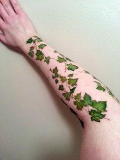 Ivy Vine Tattoo  Arm Wrap Tattoo  Sleeve Tattoo   by InsanityINK