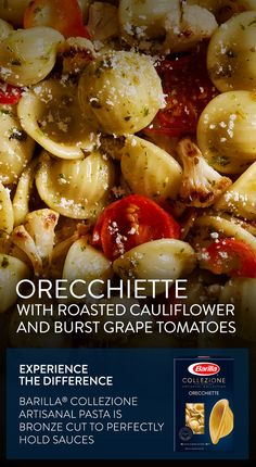 ... sauce. Combine Orecchiette with our Traditional Basil Pesto, roasted