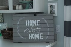 Homey Home Design #signmaking