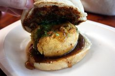 Vada pav (Mumbai) | 22 Vegetarian Indian Street Foods That Will Make You Salivate Unattractively