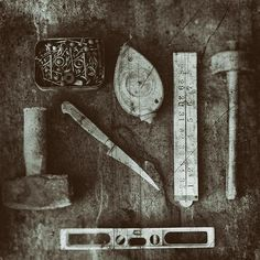 Tools still life. Photography Tools, Still Life Photography, Symbols, Letters, Gallery, Photos, Diy, Instagram, Pictures