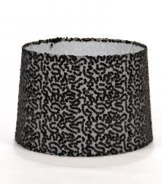 Black sequin R300.00  #interior #design #lampshade #lighting #sequin #black #southafrica