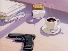 90's anime aesthetic
