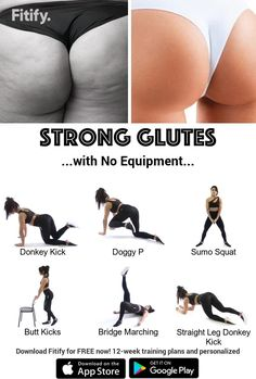 Fitness Workouts, Gym Workout Videos, Gym Workout For Beginners, Fitness Workout For Women, Workout Exercises, Butt Workouts, Workout Videos For Women, Band Exercises, Woman Workout