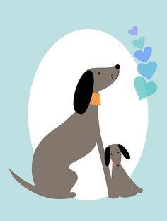 love pups by augustwren