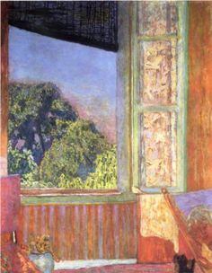 The Open Window - Pierre Bonnard