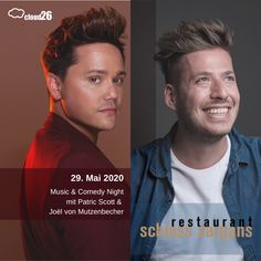 29. Mai 2020 Music & Comedy Night  . . . . . #cloud26 #swissevents #schlosssargans #patricscott #musik #schweizerevents #swissevents #anlasse #schweizeranlasse #businessgoals #friendshipgoals #laughoutloud #comedy #acousticmusic #soulmusic #soulful #gospel #guitar #finedining #ostschweiz #May2020 #birthdaytip #joelvonmutzenbecher #businessandpleasure #gourmet #schlossküche #castleevents #swisscastles #swisstourism #schweizertourismus Dinner Show, Comedy Nights, Save The Date, Mai, Musicals, Dating, News, Movie Posters, Movies