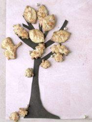 Gewürz-Crumble-Blätter
