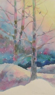 themagicfarawayttree:  Winter Chorus Print by Amy Householder