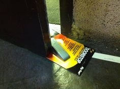 When this was just as good as a doorstop. | 28 Times People Were So Epically Lazy You'll Actually Be Impressed