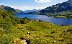 West Highland Way in Scotland.