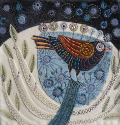 machine embroidery by Nancy Nicholson