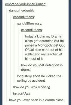 The drama kid life