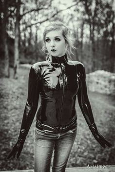 """latexandfetish: """"Teatime with Mara by PhilosophyFetish """" Latex Suit, Latex Dress, Sexy Latex, Latex Costumes, Latex Girls, Latex Fashion, Casual Outfits, Casual Clothes, Gorgeous Women"""