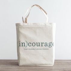 This (in)courage tote bag is perfect for carrying a library haul day at the beach or grocery store run! And it's on sale at @dayspringcards right now! The link in our profile will take you right to it.