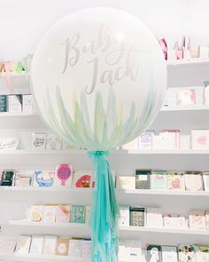 Hand Pained Baby Balloon for baby shower
