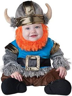 I'm thinking Owen will be a Viking this year for Halloween.... TOOO CUTE!!