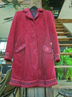 Petit manteau velours Gudrun Sjoden