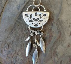 Handmade, one of a kind, jewelry for women by Cold Feet Studio. Unique and original jewelry made with fine silver and semi precious stones and cabochons. Metal Clay Jewelry, Jewelry Art, Jewelry Design, Feet Jewelry, Beach Jewelry, Jewellery, Handmade Silver, Handcrafted Jewelry, Gifts For Photographers