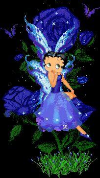 pretty blue betty