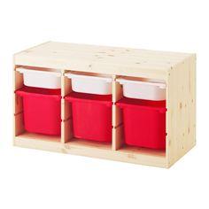 TROFAST Förvaringskombination med backar IKEA